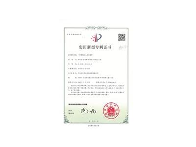 双胆直饮水机实用新型专利证书